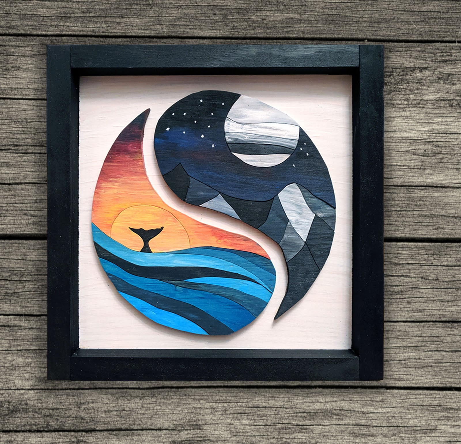 DIY KIT - Yin and Yang, Night and Day, Mountains and Ocean