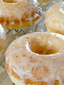 glazed lemon baked donuts (sweetandsavoryfood.com)