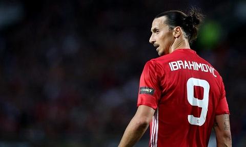 Ibrahimovic đã chuyển tới Man Utd vào đầu mùa giải 2016-17.