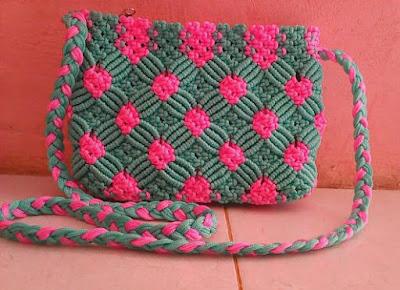 Cara buat tas dari tali kur yang simpel bagi pemula