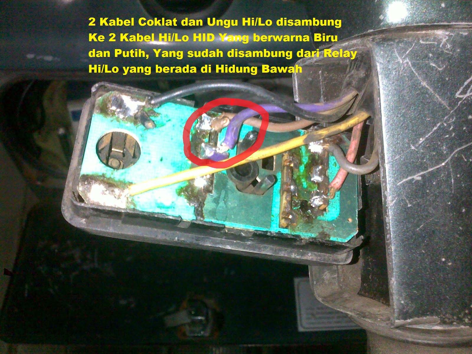 Vespane wong nganjuk desember 2014 soket cowok relay hilo kabelnya dipotong kemudian disambung ke atas dan disambung dengan potongan yang ada soketnya dan ditaruh di headlamp jangan sampai ccuart Choice Image