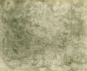 Leonardo - Coils of rain and lightening