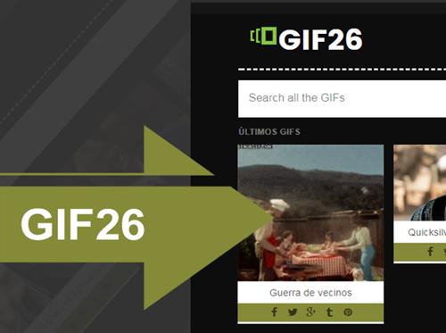 Gif26 – plantilla para gifs responsive, blogger