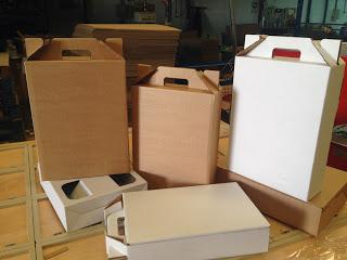 cajas para 3 botellas de vino sin impresión
