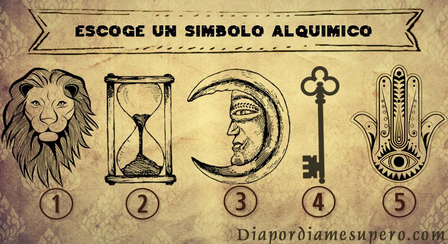 Elija un símbolo alquímico y descubre lo que tu  espíritu desea