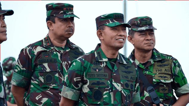 TNI AU Bangun Satuan Radar Dan Gedung Markas Koopsau lll Biak