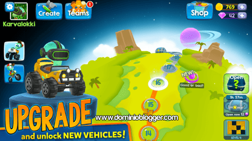 juego Big Bang Racing gratis para Android