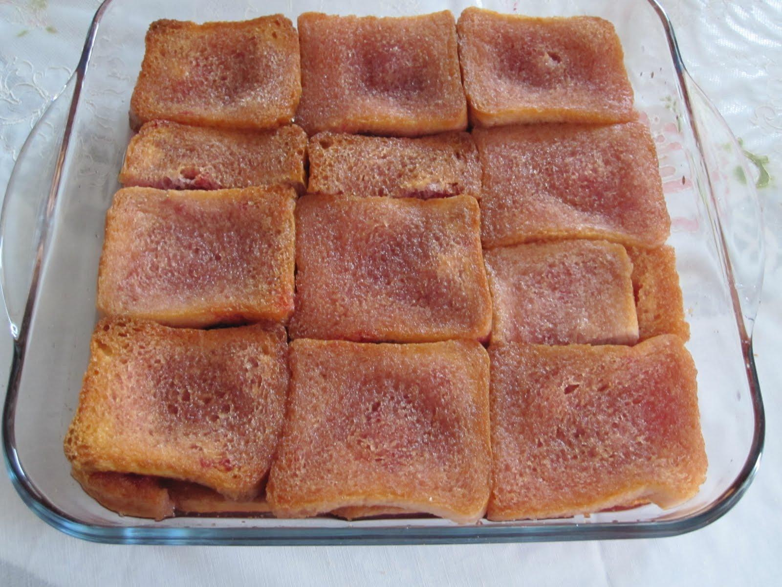 Vişneli Ekmek Kadayıfı