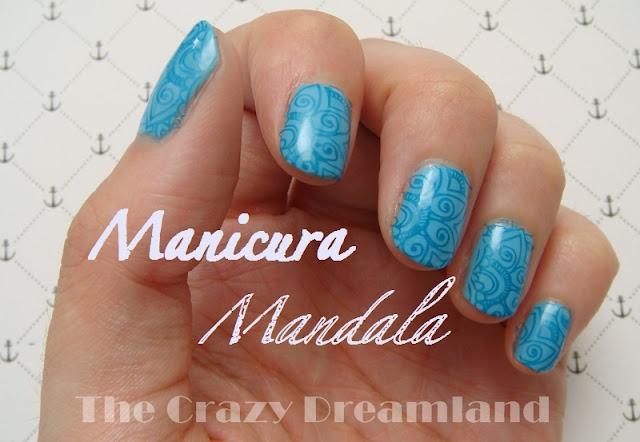 manicura mandala bornpretty