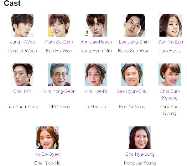 Cinderella and the Four Knights Korean Drama Cast