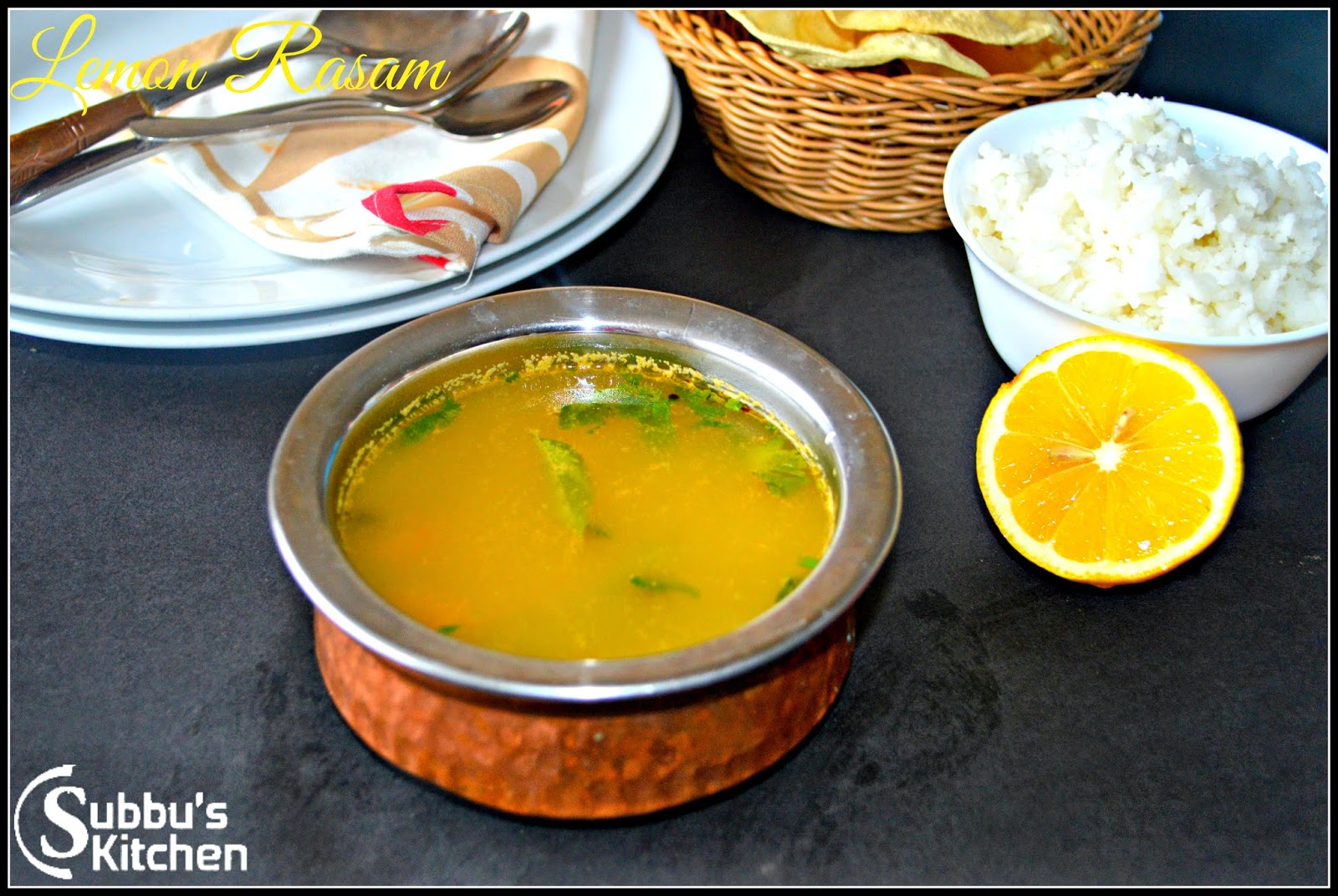 Lemon Rasam Images