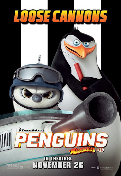 Poster of Penguins of Madagascar 2014 English 720p BRRip With Eng Subs Download