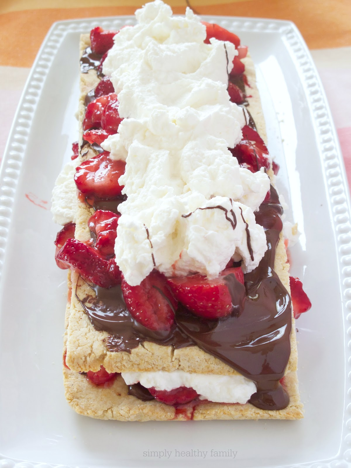 Simply Healthy Family: Chocolate-Strawberry Shortcake Stacks with ...