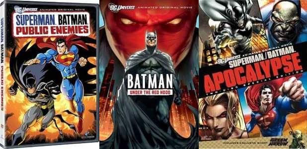 Daftar Film Animasi Batman dari Masa ke Masa