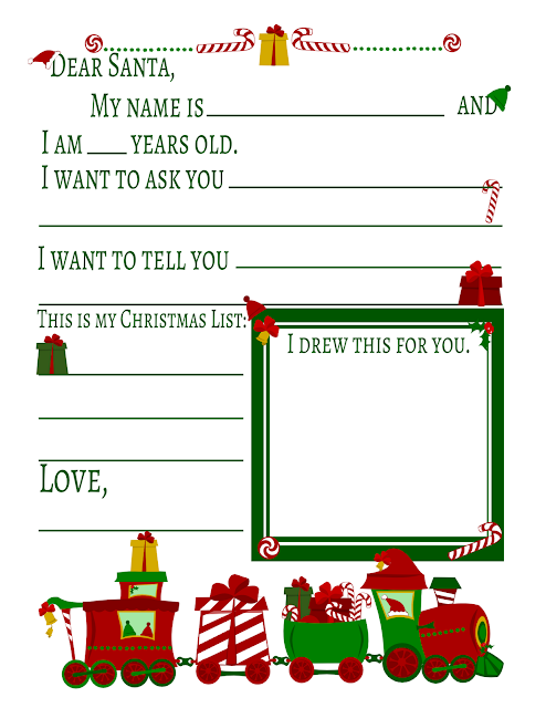 Free christmas printables gift tags homemade gift ideas lindsay gift idea place this letter along with a plate of homemade cookies for santa like my pink and gold christmas tree sugar cookies spiritdancerdesigns Image collections