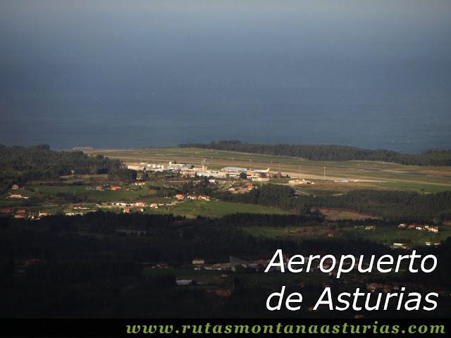 Vista del Aeropuerto desde el Bufarán