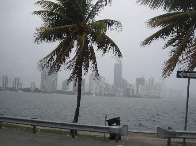 Época de furacões em Miami
