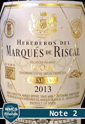 Marqués de Riscal Rioja Reserva 2013