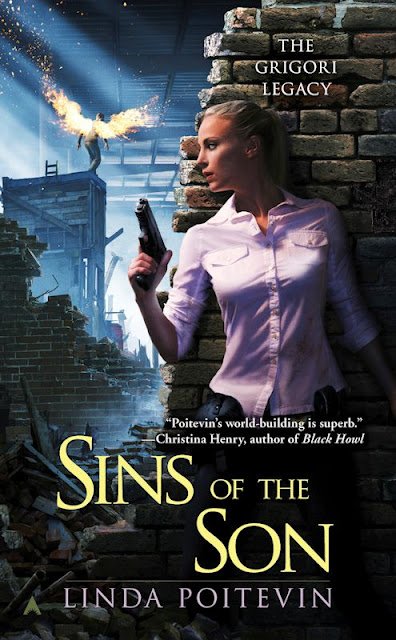 Cover Revealed - Sins of the Sons (The Grigori Legacy 2) by Linda Poitevin