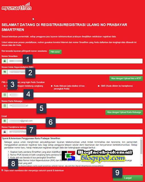 Tutorial Aktifasi / Registrasi Kartu Perdana Smartfren via Online & SMS 1