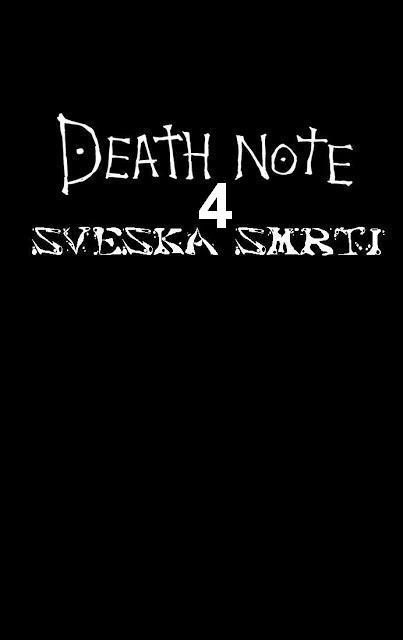 Sveska Smrti 4 - Manga