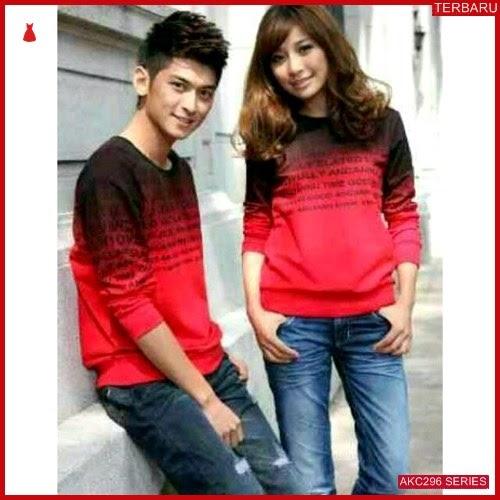 AKC296S41 Sweater Couple Alphabet Anak 296S41 Pasangan Laser BMGShop