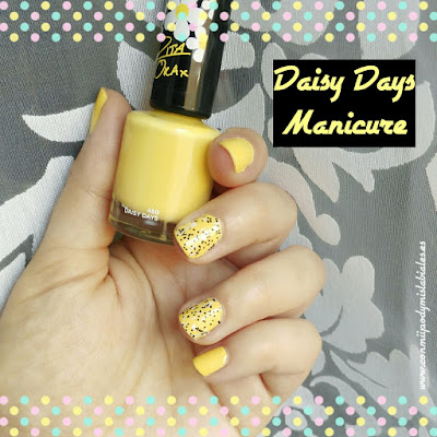 Rimmel London Manicure Daisy Days Nail Art Flormar Icy Top