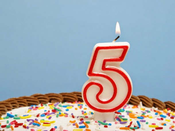 Ah-Ha-Moments.Net: It's our 5th Birthday!