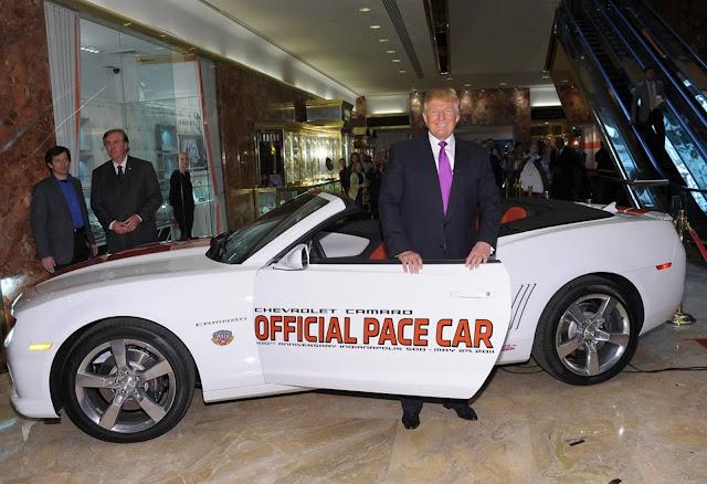 Donald Trump Camaro