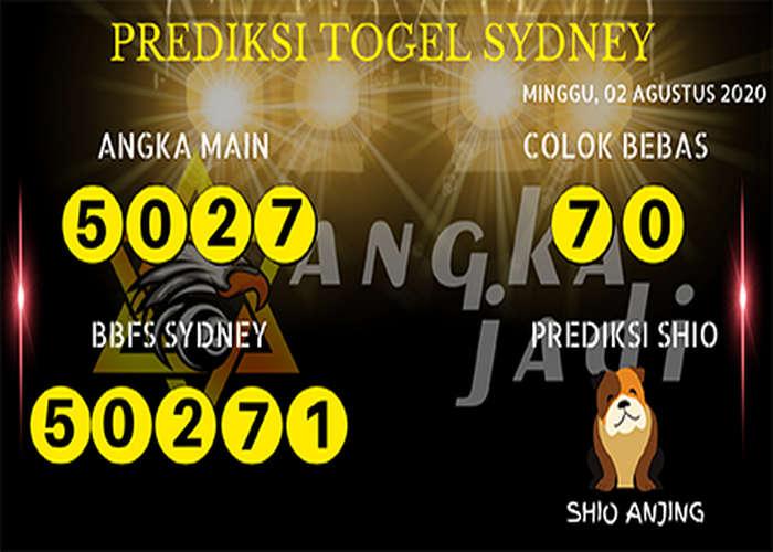 Kode syair Sydney Minggu 2 Agustus 2020 204