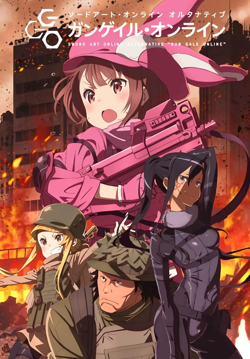 Sword Art Online Alternative - Gun Gale Online Batch Subtitle Indonesia [x265]