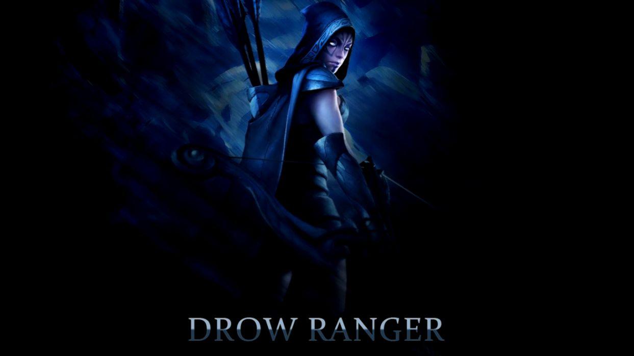 Dota 2 Drow Ranger Hd Wallpaper Link Wallpapers