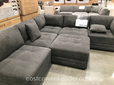 6 Piece Fabric Modular Sectional Costco Weekender