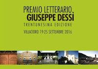 """Villacidro: Premio """"Giuseppe Dessì"""" dal 19 al 25 settembre"""