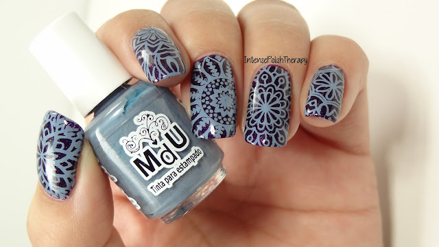 Floral Mandala Manicure