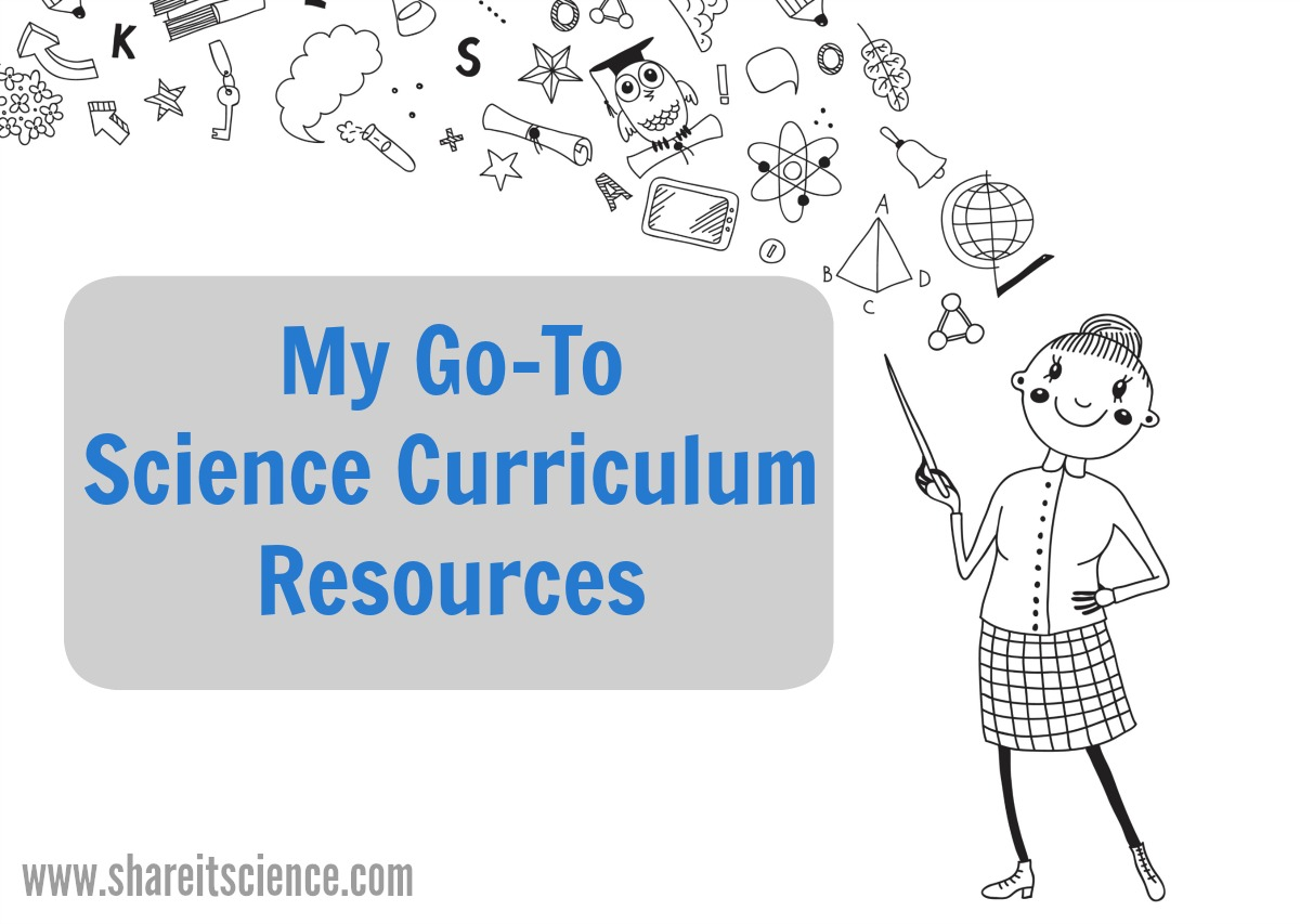science curriculum resource books