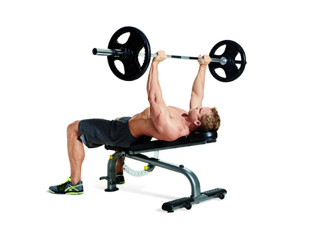 Best Chest Exercises of All Time - 30 Exercise - Low-Incline Press
