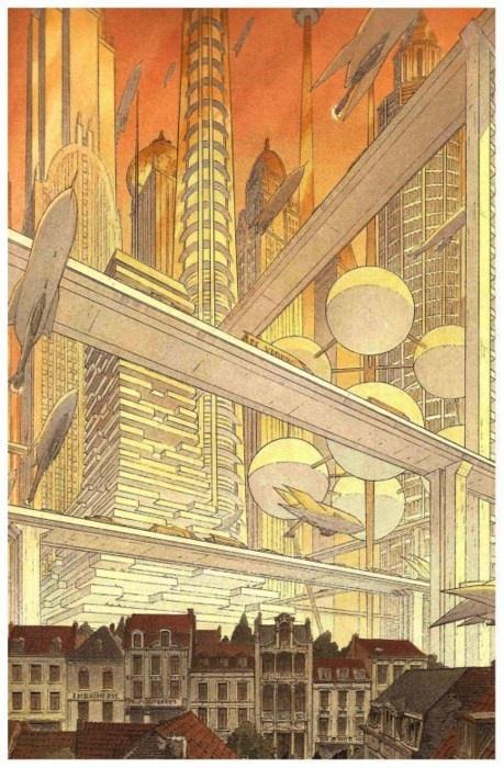 Les Cités obscures (Schuiten & Peeters) - Kristopher Fulton | The Twilight Cities