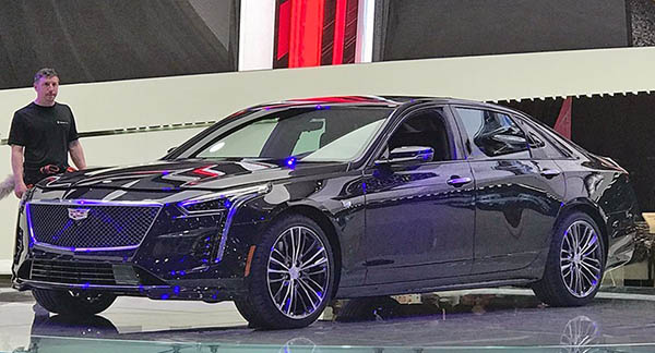 Burlappcar Getting Ready 2019 Cadillac Ct6 V Sport