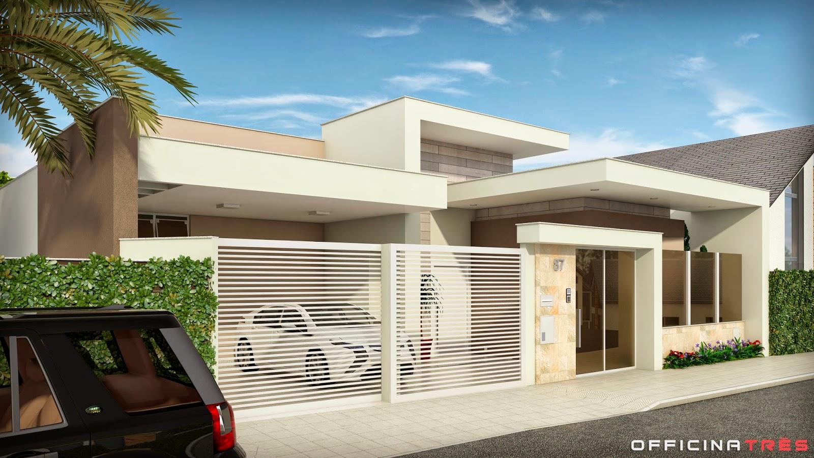 Officinatr s casa moderna em chal mg for Casa moderna 5