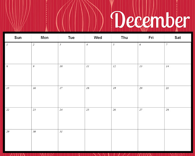 Merry^ December 2015 Calendar Christmas templates
