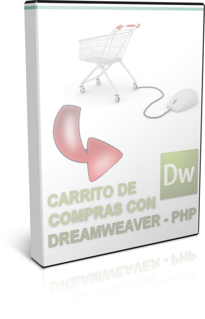 Crea un carrito de la compra con Dreamweaver y PHP – Videotutoriales.es