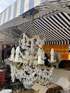 El Mercado de Antigüedades de Niza.