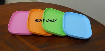 SNACK PLATE (2) & Glory Daisy Boutique: Tupperware