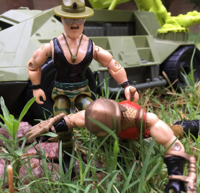 1986 Sgt. Slaughter, TTT, Overlord, 1990, Monster Blaster APC, Mega Marines