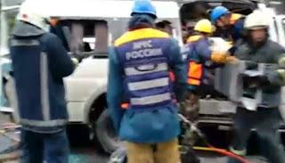 ரஷ்யாவில் கோர விபத்து: 13 பேர் பரிதாபமாக பலி!