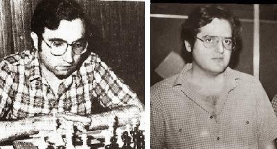 Los ajedrecistas del Club Ajedrez Terrassa Isidre Grau y Alexandre Pablo
