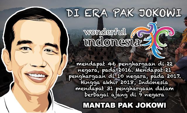 Menyimak Total Penghargaan Yang Di Dapatkan Indonesia di Era Jokowi