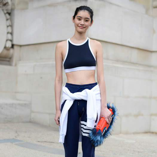 Crop Top-Sports Bra Hybrids We Love