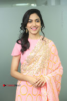 Actress Ritu Varma Pos in Beautiful Pink Anarkali Dress at at Keshava Movie Interview .COM 0027.JPG